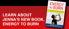 Learn about Jenna's new book, Energy to Burn